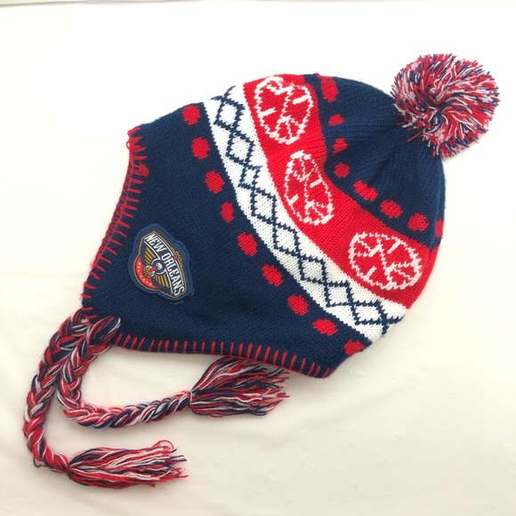 Other - New Orleans Pelicans Basketball Knit Beanie Hat